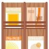 雑誌や本をおしゃれに飾る家具「フラップ扉の収納棚」おすすめ通販ショップ集
