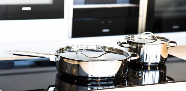 おしゃれな鍋セット・フライパンの写真