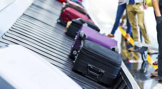 おしゃれなスーツケースカバーの写真
