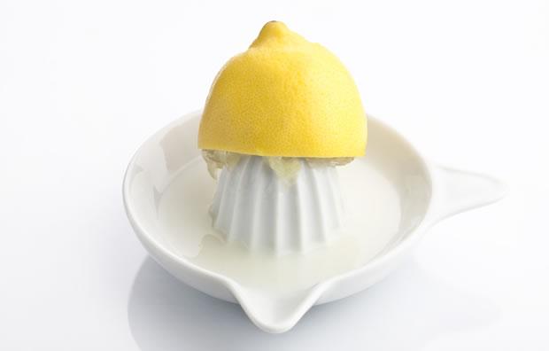 おしゃれなレモンしぼり器の写真